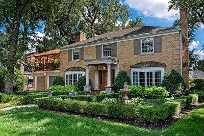 Lincolnwood Single Family Home For Sale: 6601 North Tower Circle Drive