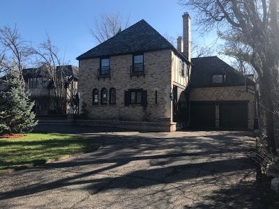 Highland Park Single Family Home Price Change: 324 North Deere Park Drive West