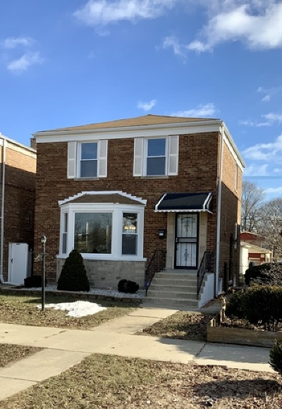 Chicago Single Family Home Re-Activated: 8717 South Clyde Avenue