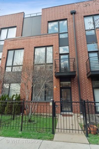 Condo/Townhouse New: 2338 West Wolfram Street