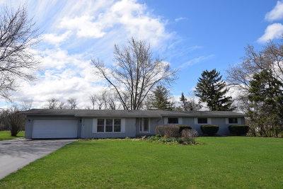 Crystal Lake Single Family Home New: 9615 Beech Avenue