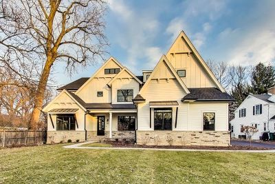 Wilmette Single Family Home New: 1030 Illinois Road