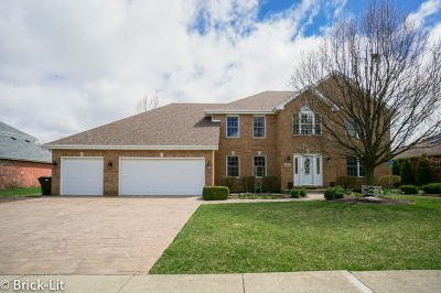 Frankfort Single Family Home New: 22025 Clove Drive