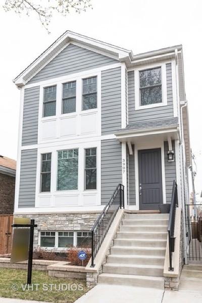Single Family Home New: 3907 North Mozart Street