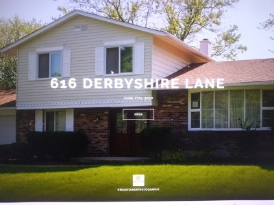 Bolingbrook Single Family Home New: 616 Derbyshire Lane