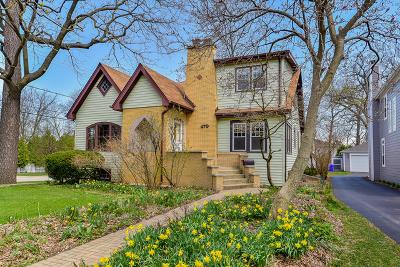 Glen Ellyn Single Family Home New: 479 Carleton Avenue