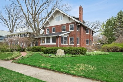 Wilmette Single Family Home New: 518 Forest Avenue