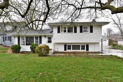 Winfield  Single Family Home Contingent: 26w521 Jewell Road