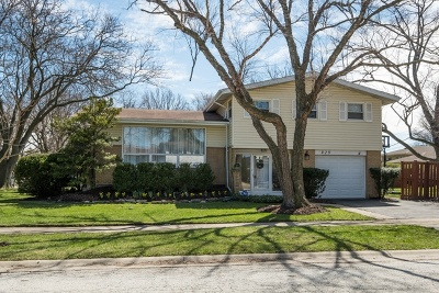 Wilmette Single Family Home New: 829 La Crosse Court