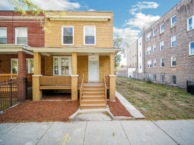 Chicago Single Family Home New: 6409 South Champlain Avenue