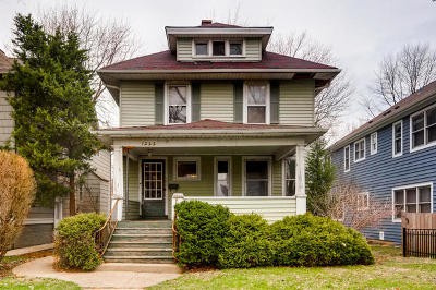 Wilmette Single Family Home New: 1222 Lake Avenue