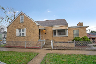 Chicago Single Family Home New: 5800 South Fairfield Avenue
