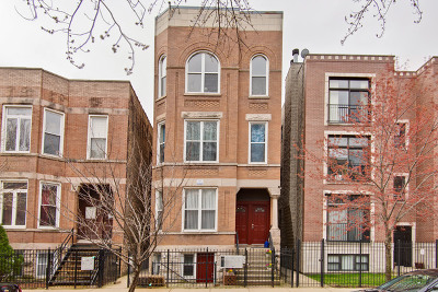 Chicago Condo/Townhouse New: 2613 West Evergreen Street #1S