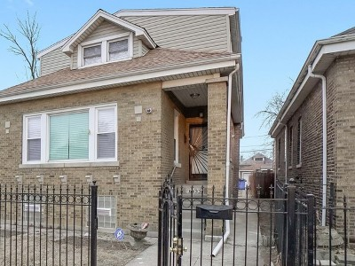 Chicago Single Family Home New: 6933 South Claremont Avenue