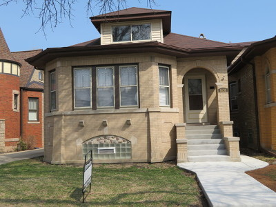 Chicago Single Family Home New: 1631 North New England Avenue