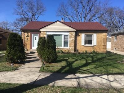 La Grange Park Single Family Home New: 1504 Kemman Avenue
