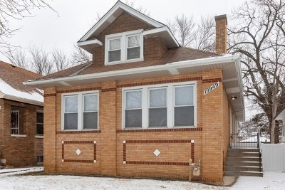 Chicago Single Family Home New: 10949 South Church Street
