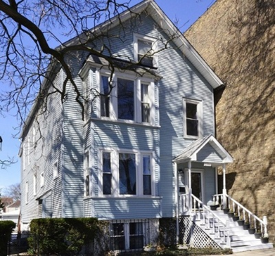 Chicago Single Family Home New: 6056 North Paulina Street