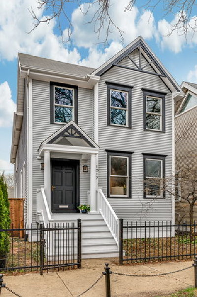 Single Family Home New: 1017 West George Street