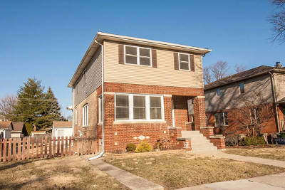 Oak Lawn Single Family Home For Sale: 9724 Cook Avenue