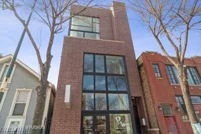 Condo/Townhouse New: 2424 North Ashland Avenue #2