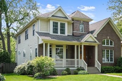 Glenview Single Family Home New: 1967 Prairie Street