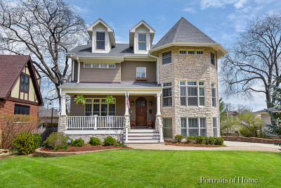 Glen Ellyn Single Family Home Price Change: 275 Merton Avenue