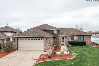 Tinley Park Single Family Home New: 16419 Hillcrest Drive