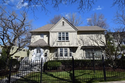 Evanston Single Family Home New: 1317 Lyons Street