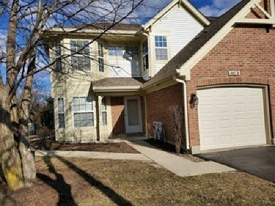 Crystal Lake Condo/Townhouse New: 1687 Pearl Court #B