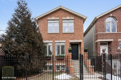 Chicago Single Family Home New: 5129 North Winchester Avenue
