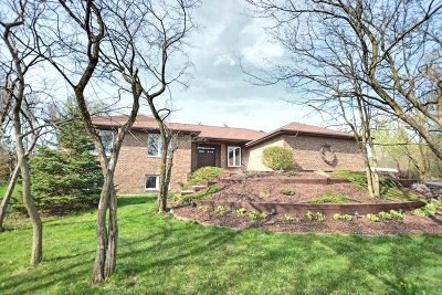 Lemont Single Family Home Price Change: 15 Valley View Drive