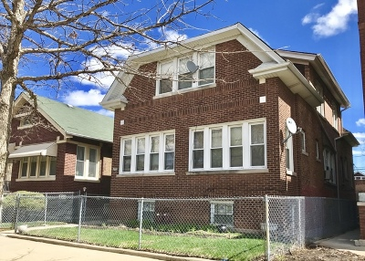 Chicago Multi Family Home New: 8147 South Justine Street