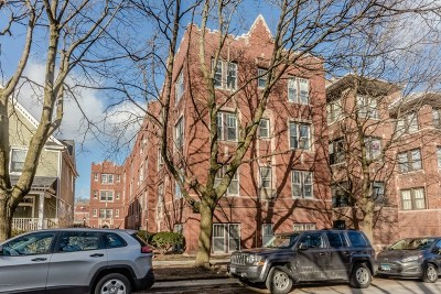 Chicago Condo/Townhouse New: 1748 West Granville Avenue #1A