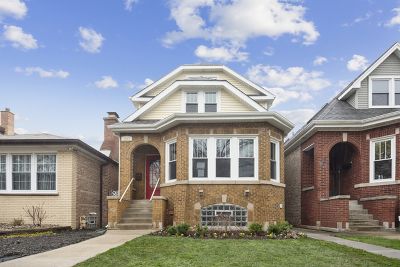 Chicago Single Family Home New: 4823 West Argyle Street