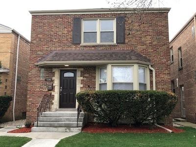 Chicago Single Family Home New: 3045 West Fargo Avenue