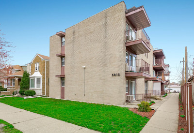 Chicago Condo/Townhouse New: 5815 North Spaulding Avenue #3B