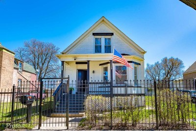 Chicago Single Family Home New: 6627 South Hermitage Avenue