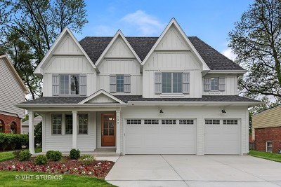 Glen Ellyn Single Family Home For Sale: 249 Linden Street