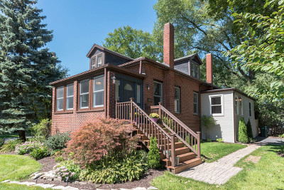 Wilmette Single Family Home New: 1201 Middlebury Lane