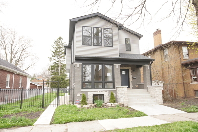 Chicago IL Single Family Home New: $629,900