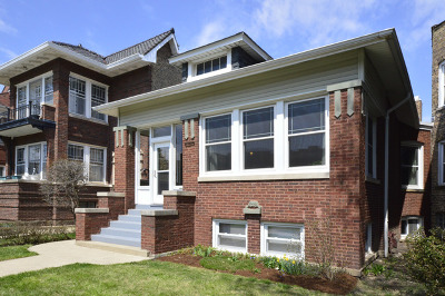 Chicago Single Family Home New: 2718 West Giddings Street