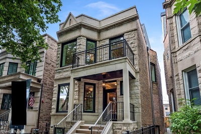 Chicago Single Family Home New: 1330 West Newport Avenue