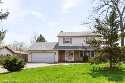 Crystal Lake Single Family Home New: 1727 Il Route 176