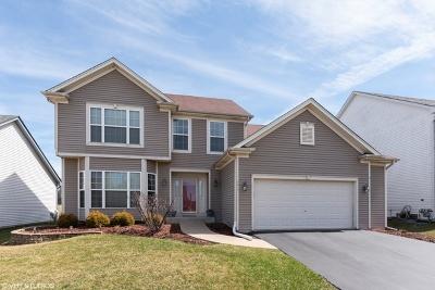 Bartlett Single Family Home Price Change: 141 Hearthstone Drive