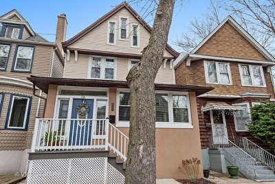 Chicago Single Family Home New: 1502 West Highland Avenue