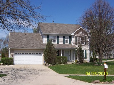 Crystal Lake Single Family Home New: 1288 Manchester Drive