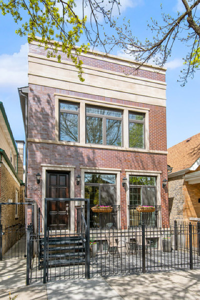 Chicago Single Family Home New: 2120 West Homer Street