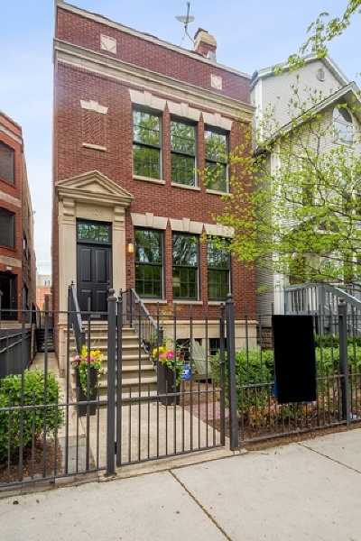 Chicago Single Family Home New: 1026 West Altgeld Street