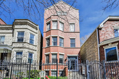 Chicago Condo/Townhouse New: 3539 North Racine Avenue #2